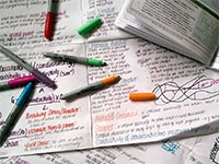 Revision notes and flashcards