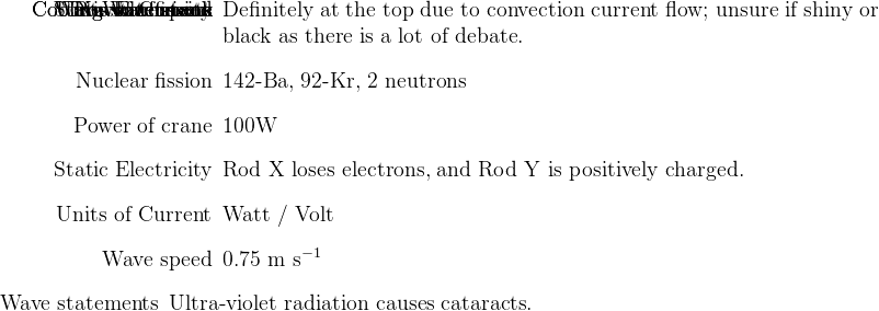 Student Room Physics P Unofficial Mark Scheme