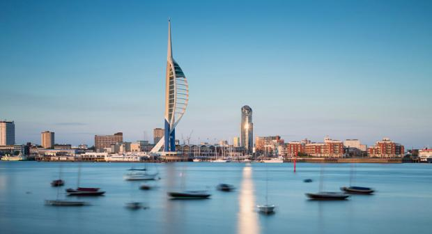 Portsmouth skyline