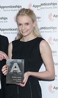 Apprentice Emma Goulding
