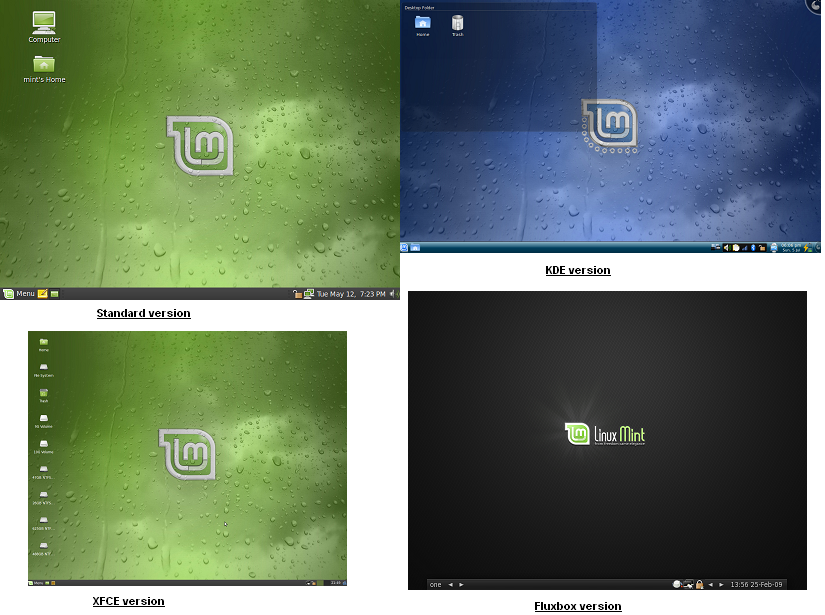Linux mint versions