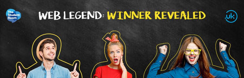 Web Legend: Winner revealed