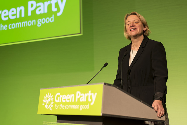 Natalie Bennett speaking
