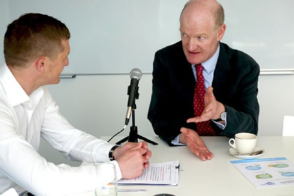 David Willetts in conversation with The Student Room's MD, Jason Geall.