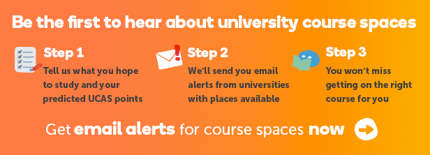 Secure your university place with our email updates