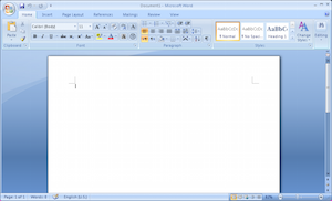 File:Microsoft Office 2007 - Screenshot without rulers.png