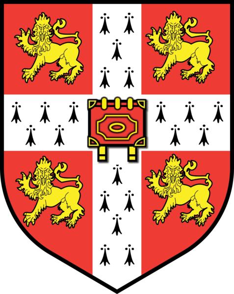 File:477px-Cambridge University Crest - flat.png