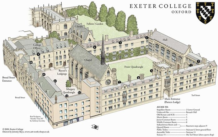 Exeter College Oxford Student Room