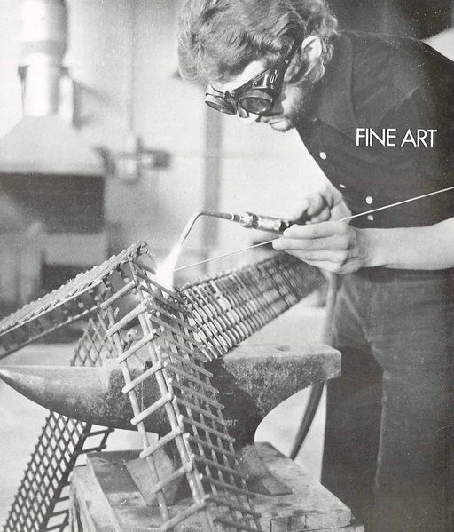 File:Fine art at the Canterbury School of Art in the 70s.jpg
